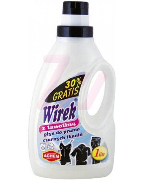 WIREK płyn do prania czarnych tkanin z lanoliną 1L
