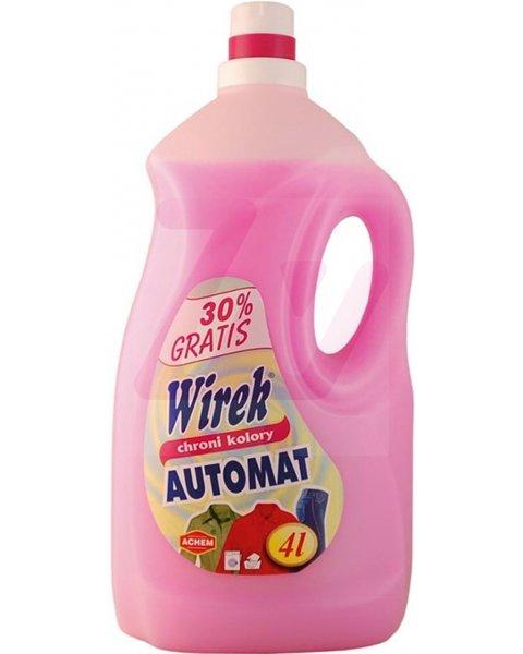 WIREK AUTOMAT płyn do prania w pralkach automatycznych 4L