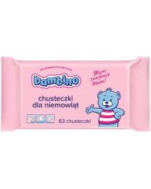 Bambino chusteczki dla niemowląt 63szt