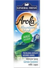 General Fresh Arola wkład do odświeżacza spray Magiczna Szyszka Górskie Powietrze 40ml