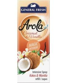 General Fresh Arola wkład do odświeżacza spray Magiczna Szyszka Kokos i Wanilia 40ml