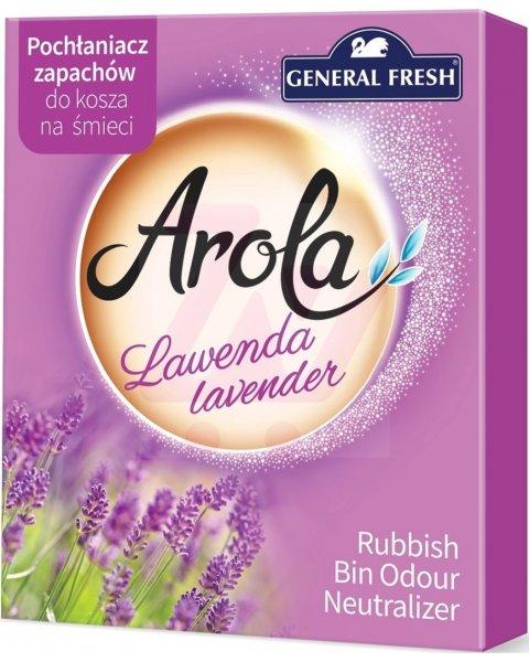 General Fresh Arola pochłaniacz zapachów do kosza na śmieci Lawenda