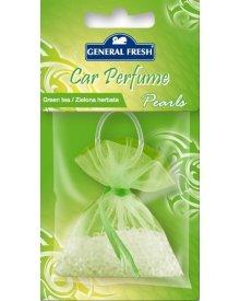 General Fresh Car Perfume odświeżacz powietrza do samochodu perełki Zielona Herbata