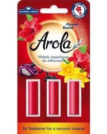 General Fresh wkład zapachowy do odkurzacza Kwiatowy 3szt.