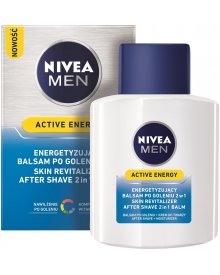 NIVEA MEN Active Energy Energetyzujący balsam po goleniu 2w1 100 ml