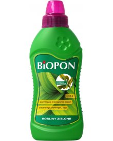 BIOPON nawóz do roślin zielonych przeciw chlorozie płyn 500ml
