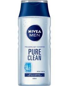 NIVEA MEN Pure Clean Szampon łagodny do włosów normalnych 400 ml
