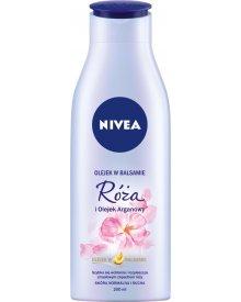 NIVEA Olejek w balsamie Róża i Olejek Arganowy 200 ml