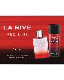 La Rive Red Line zestaw woda toaletowa 90ml+dezodorant 150ml