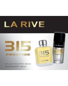 La Rive Prestige Men zestaw woda toaletowa 100ml+dezodorant 150ml