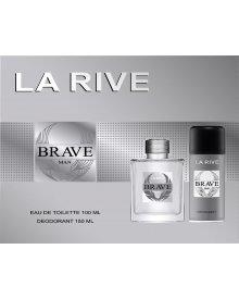 La Rive Brave Man zestaw woda toaletowa 100ml+dezodorant 150ml