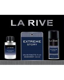 La Rive Extreme Story zestaw woda toaletowa 75ml+dezodorant 150ml