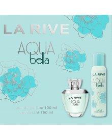 La Rive Aqua Bella zestaw woda perfumowana 100ml+dezodorant 150ml