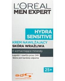 L'Oréal Paris Men Expert Hydra Sensitive 25+ Krem nawilżający skóra wrażliwa 50 ml