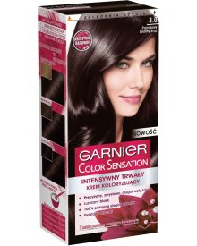Garnier Color Sensation Farba do włosów 3.0 Prestiżowy ciemny brąz