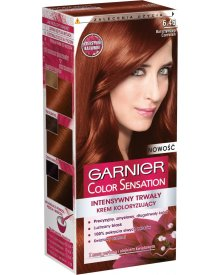 Garnier Color Sensation Farba do włosów 6.46 Bursztynowa czerwień