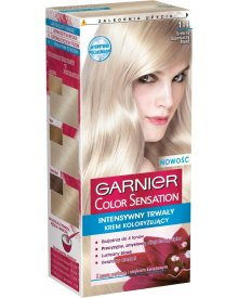 Garnier Color Sensation Farba do włosów 111 Srebrny superjasny blond