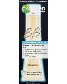 Garnier Skin Naturals Upiększający krem BB 5 w 1 skóra mieszana i tłusta cera jasna 40 ml