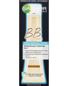 Garnier Skin Naturals Upiększający krem BB 5 w 1 skóra mieszana i tłusta cera śniada 40 ml