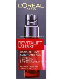 L'Oréal Paris Revitalift Laser X3 Regenerujące serum Anti-Age 30 ml