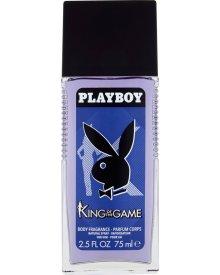 Playboy King Of The Game Odświeżający dezodorant z atomizerem dla mężczyzn 75 ml