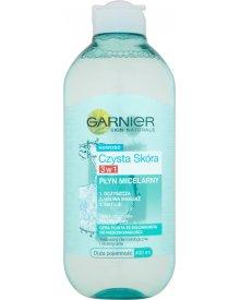 Garnier Czysta Skóra Płyn micelarny 3w1 400 ml
