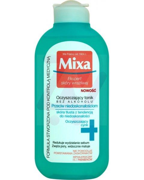 Mixa Oczyszczający tonik przeciw niedoskonałościom 200 ml