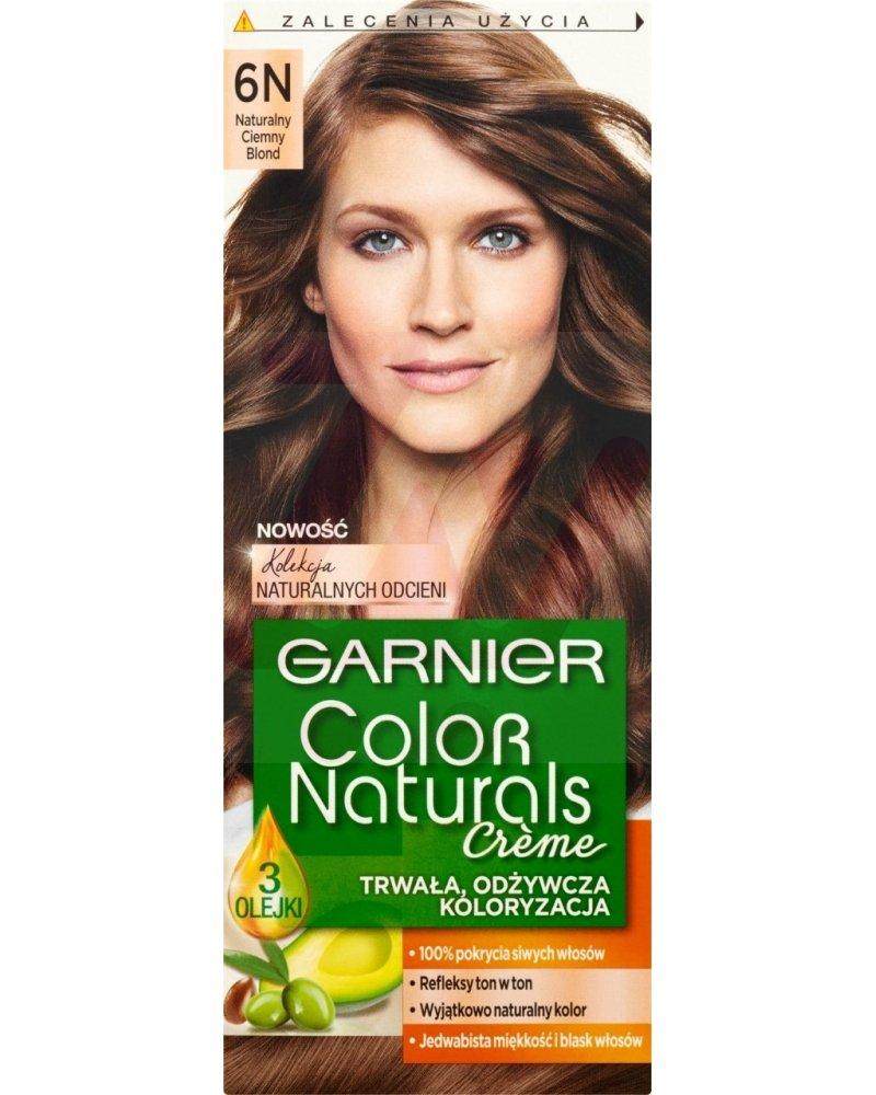 Garnier Color Naturals Creme Farba Do Włosów 6n Naturalny Ciemny