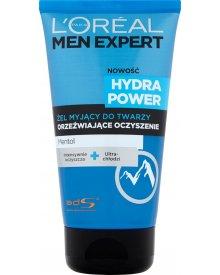 L'Oreal Paris Men Expert Hydra Power Żel myjący do twarzy Orzeźwiające Oczyszczenie 150 ml