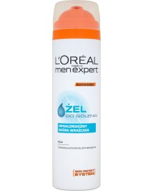 L'Oreal Paris Men Expert Żel do golenia hipoalergiczny 200 ml
