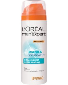 L'Oreal Paris Men Expert Pianka do golenia hipoalergiczna 200 ml