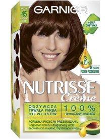 Garnier Nutrisse Creme Farba do włosów 45 Mahoniowy brąz