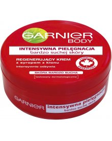 Garnier Body Intensywna Pielęgnacja bardzo suchej skóry Regenerujący krem z syropem z klonu 200 ml