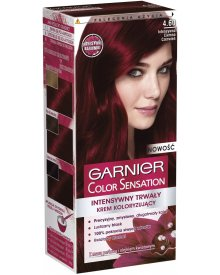 Garnier Color Sensation Krem koloryzujący 4.60 Intensywna ciemna czerń