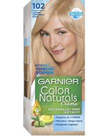Garnier Color Naturals Creme Rozjaśniający krem odżywczy 102 Lodowy opalizujący blond