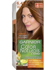 Garnier Color Naturals Creme Farba do włosów 6.41 Złoty bursztyn