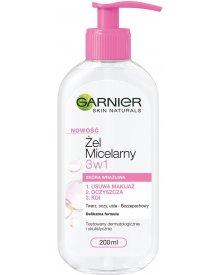 Garnier Skin Naturals Żel Micelarny 3w1 Skóra Wrażliwa 200ml
