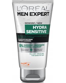 L'oreal Paris Men Expert Hydra Sensitive Krem Żel Skóra Wrażliwa 150 ml
