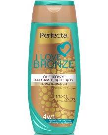 Perfecta I Love Bronze Olejkowy balsam brązujący jasna karnacja 250 ml