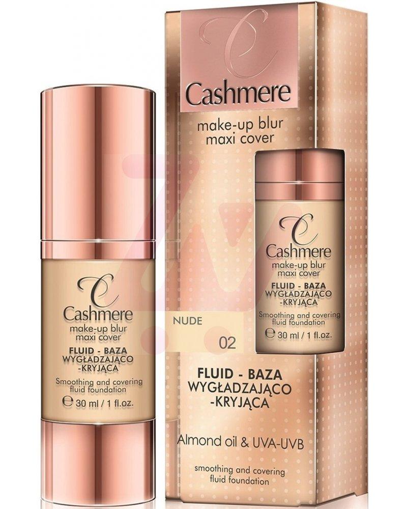 Cashmere Fluid - baza wygładzająco-kryjąca do twarzy nr 02