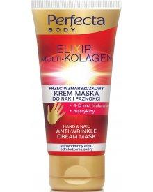 Perfecta Body Elixir Multi-Kolagen Przeciwzmarszczkowy krem-maska do rąk i paznokci 80ml