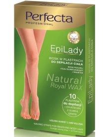 Perfecta EpiLady Cukrowy wosk do depilacji ciała w plastrach 10szt.