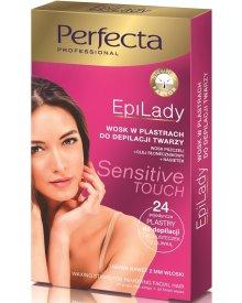 Perfecta EpiLady Cukrowy wosk do depilacji twarzy w plastrach 24szt.