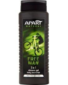 Apart Natural Free Man Żel pod prysznic 500 ml
