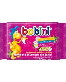 Bobini Baby chusteczki nawilżane dla dzieci Aloes i Rumianek 30szt.