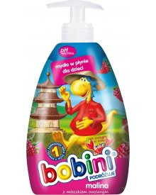 Bobini mydło w płynie dla dzieci Malina 400ml