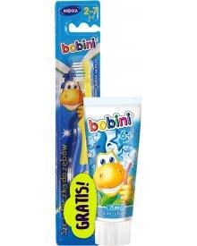 Bobini zestaw pasta Junior 75ml i szczoteczka do zębów gratis