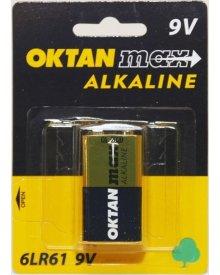 OKTAN Max 6LR61 9V bateria alkaliaczna 1szt