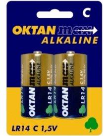 OKTAN Max LR14 1,5V bateria alkaliczna 2szt