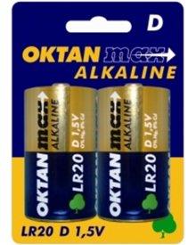 OKTAN Max LR20 1,5V bateria alkaliczna 2szt